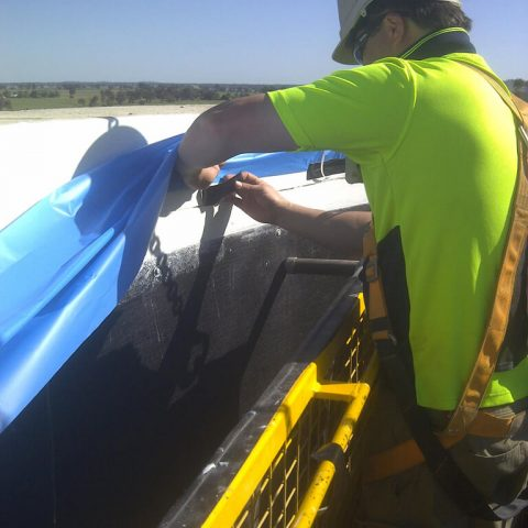 Culcairn Water Storage Tank Repair with Polyurea