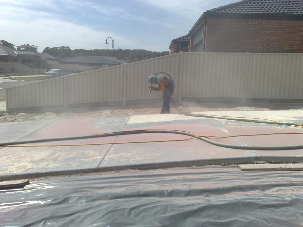 Brick & Garnet Sandblasting Melbourne & Ballarat - Polyspray
