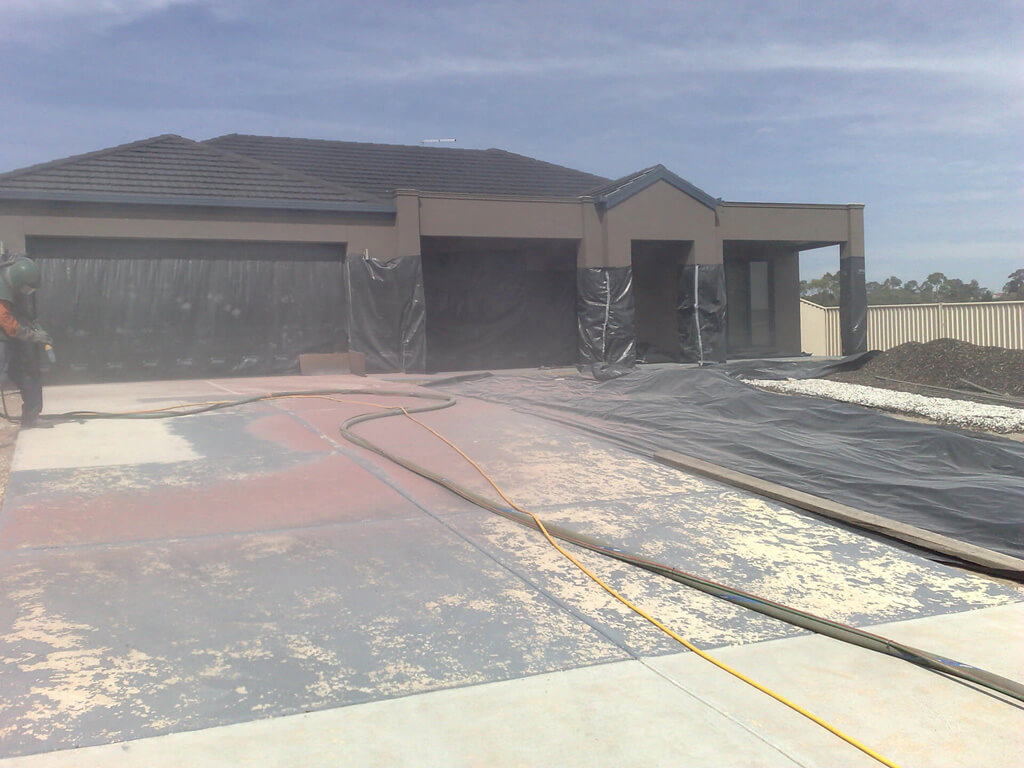 What Will Remove Paint From A Driveway